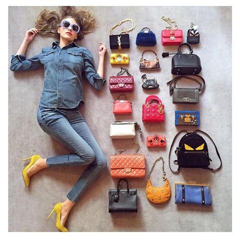 Как выбрать цвет сумки?