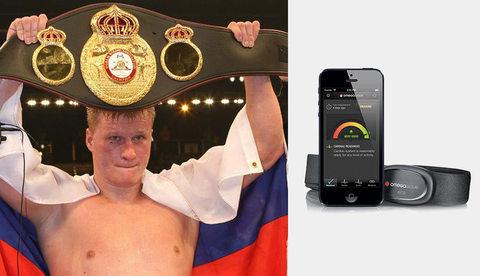 Александр Поветкин поблагодарил Omegawave за вклад в победу боксера