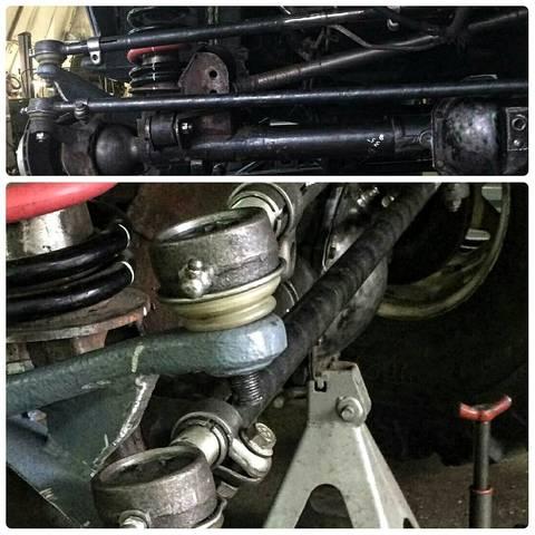 Усиленные рулевые тяги