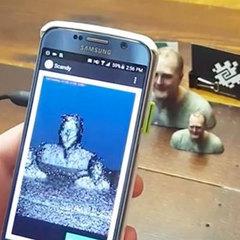3D-сканирование в реальном времени на Android