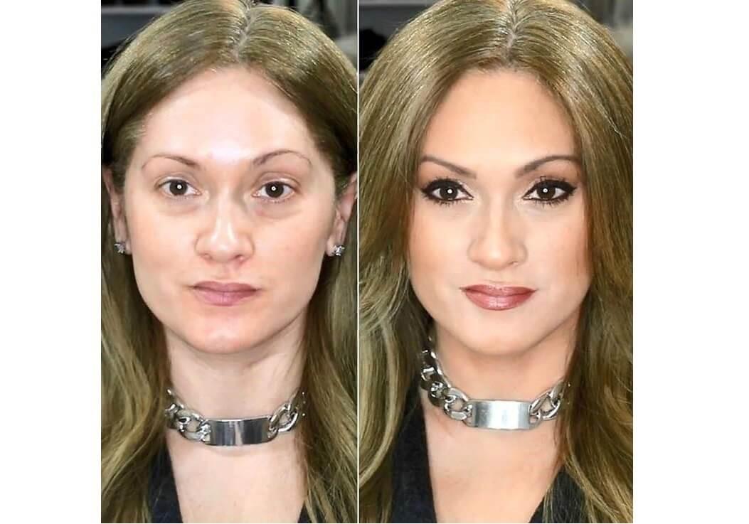 Как сделать вечерний макияж после 40 лет. Пошагово.