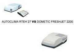 Сравнение автомобильного кондиционера Autoclima RTEH27 и Dometic Fresh Jet 2200