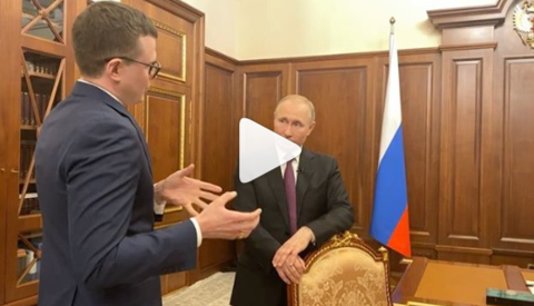 Путин рассказал о звонящих в Кремль внуках