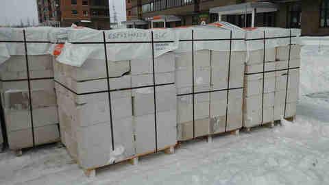 Поставка газосиликатных блоков Аэростоун в город Клин