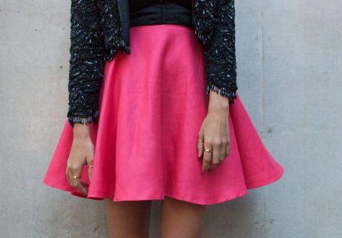 Шьем юбку солнце в 4 простых шага. Мастер-класс