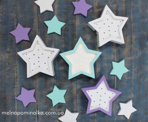 Светодиодный ночник звезда