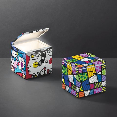 Кубик Бритто: Cuboluce в лимитированной авторской отделке
