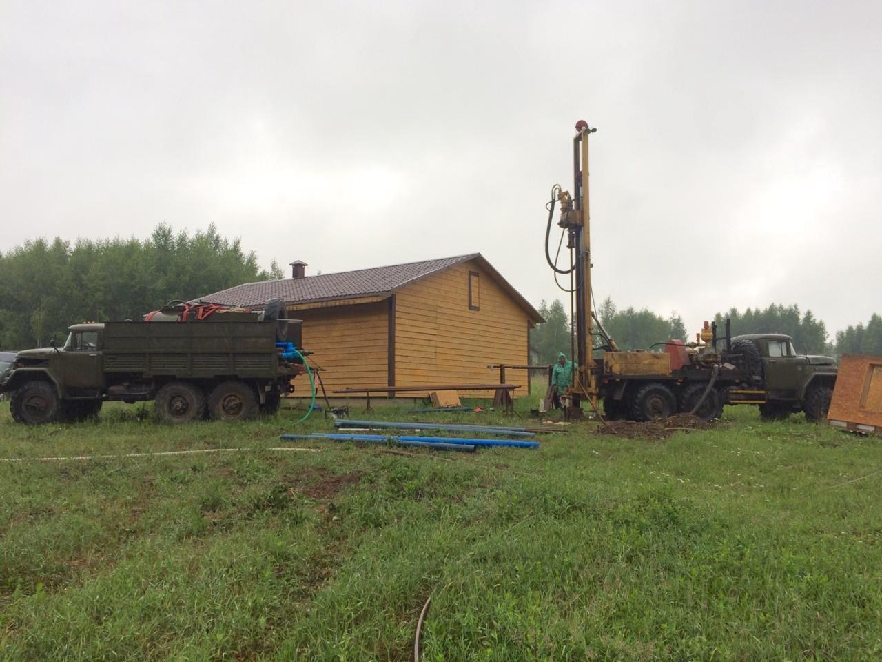 Начался ремонт резервной скважины