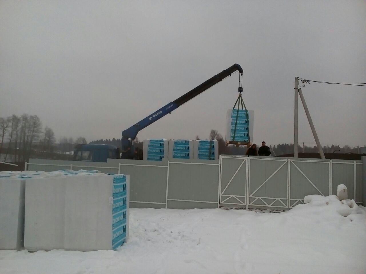 Блоки бонолит в Подольске