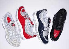 Новая коллекция Nike Air Max 98 X Supreme уже в России