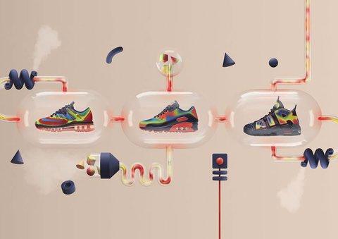 Кроссовки Nike Air Max: невесомость и смелый дизайн