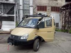 Силовой обвес на ГАЗ Баргузин