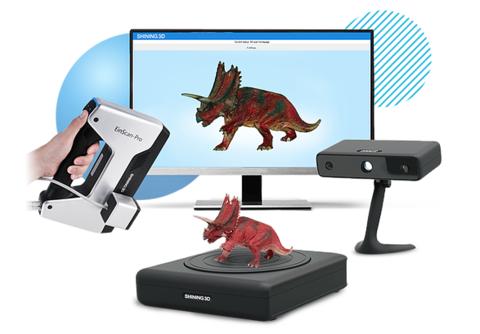 Новая версия ПО EinScan для 3D сканеров SHINING