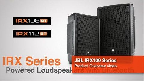 JBL IRX - новые беспроводные активные компактные акустические системы