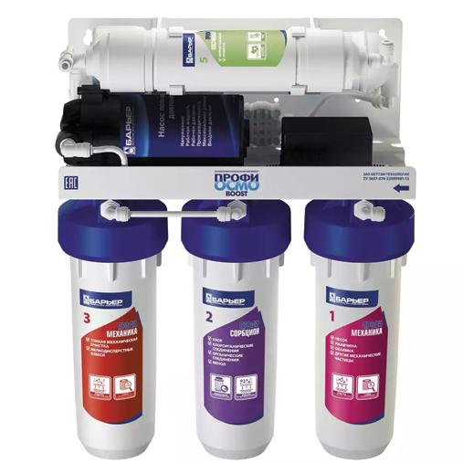 Как заменить картриджи в фильтре для воды