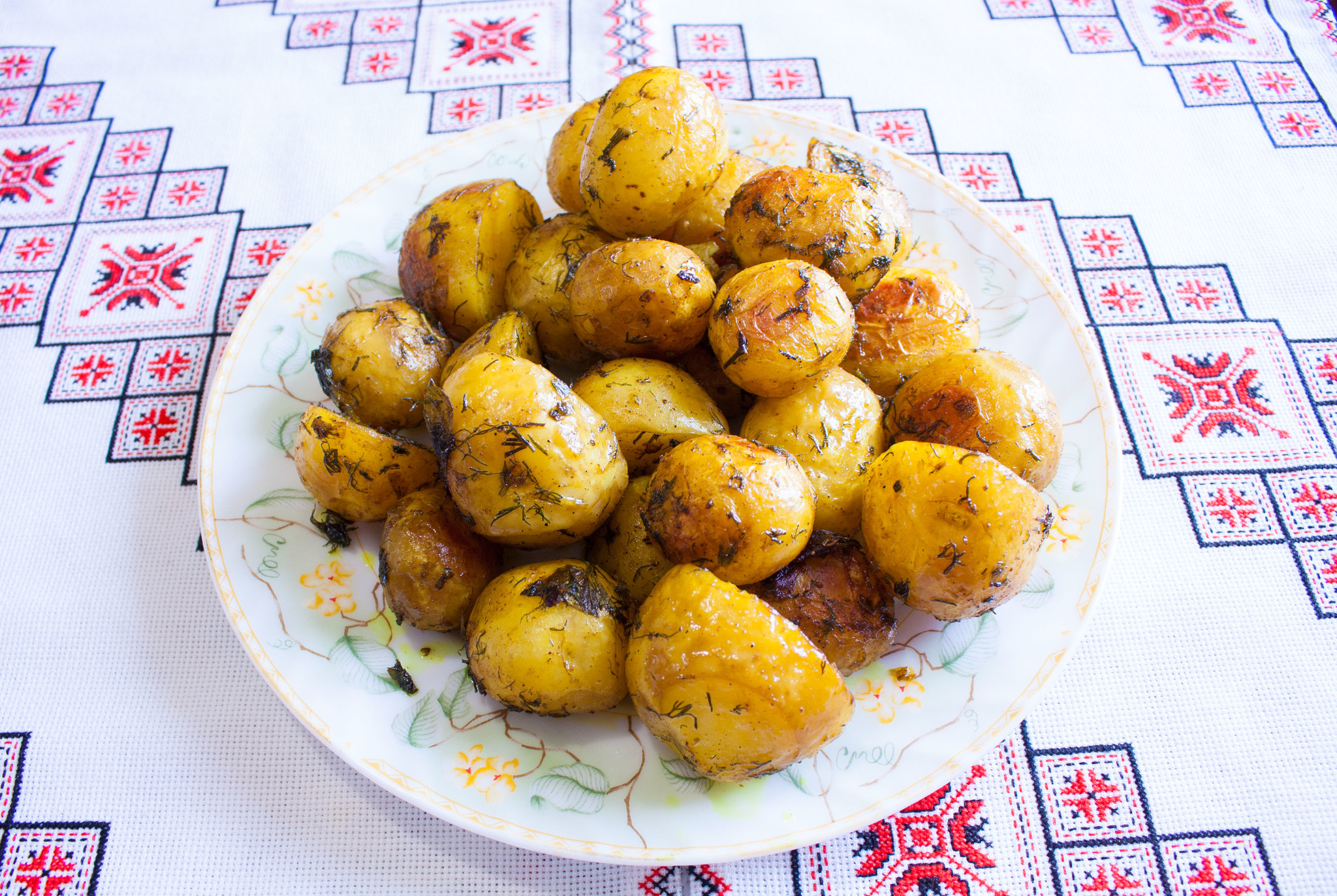Картофель запеченный в рукаве