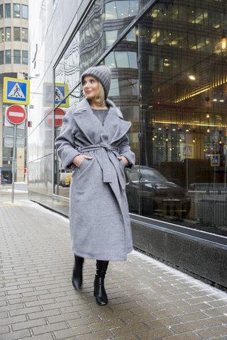 Утепленные пальто-халаты Merry Perry.