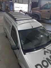 Экспедиционный багажник для автомобиля Ларгус