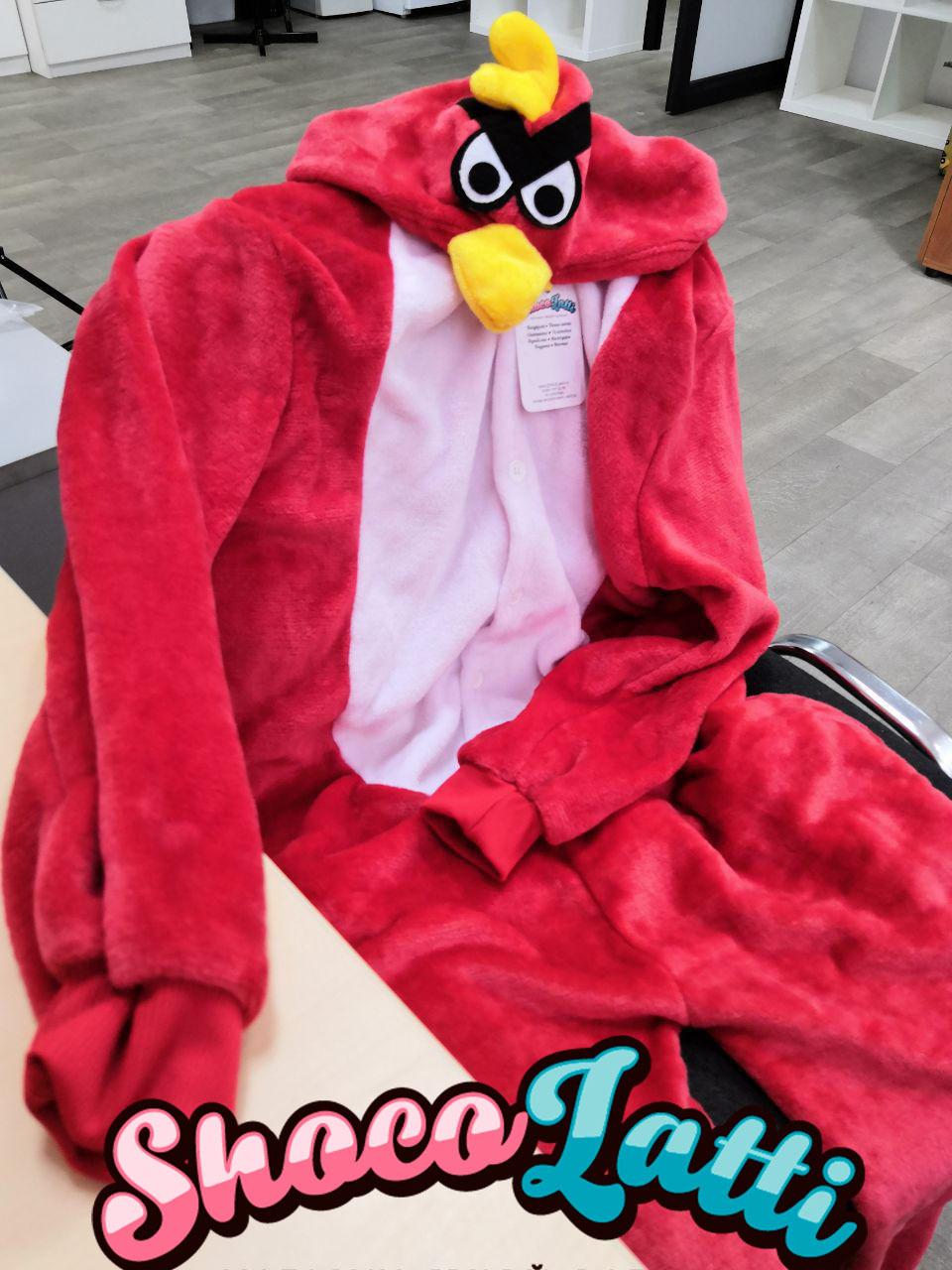 Обзор на пижаму кигуруми Angry Birds от Shocolatti.ru