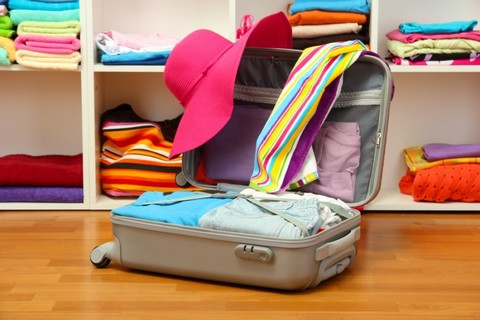 Выбор размера чемодана