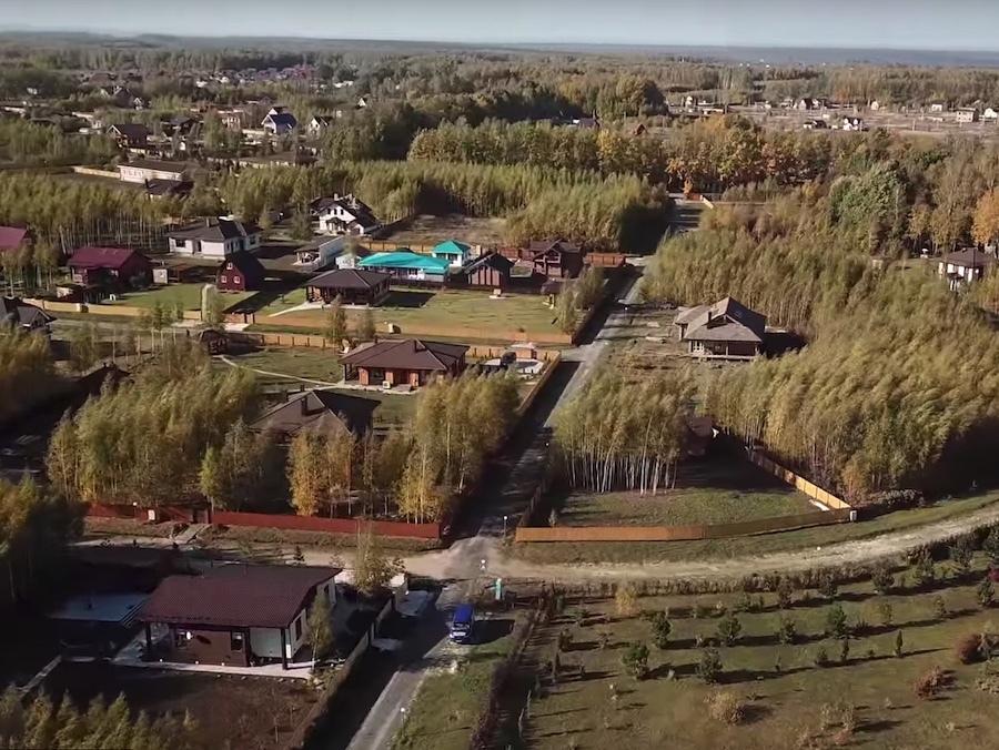 Аэросъемка «Романовского Парка». Октябрь 2018 года.