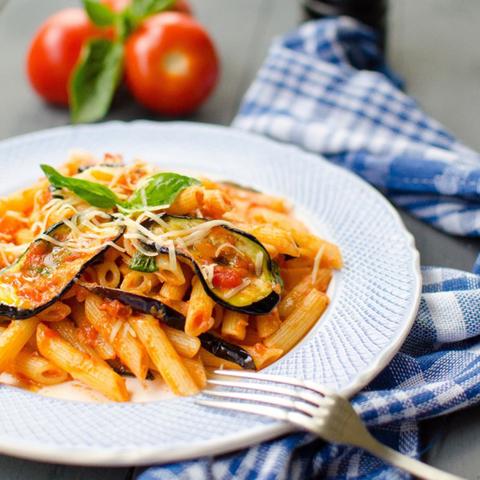 Сицилийская паста с баклажанами / Pasta alla norma