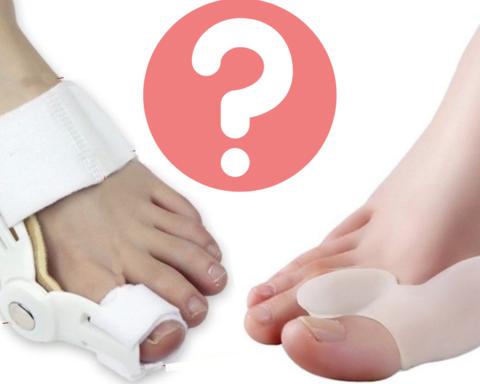 Как выбрать корректоры от «косточек» на больших пальцах?