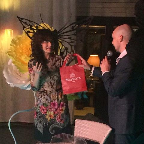 Majorica стала партнером показа известного талантливого Петербургского дизайнера Натальи Родионенко!
