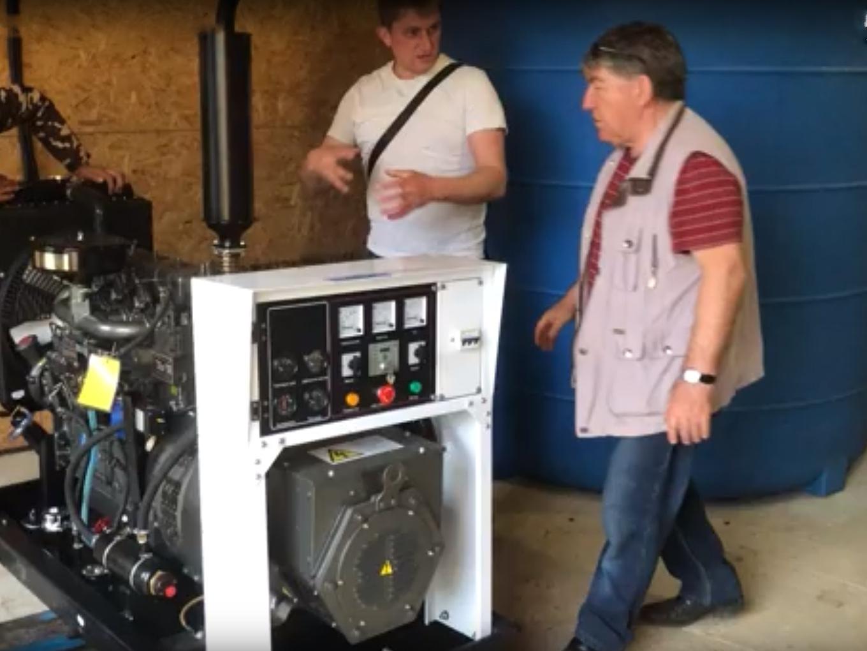 Резервный дизель-генератор в «Романовском Парке»