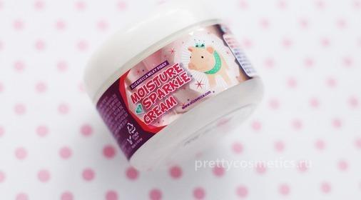 Корейский крем для красивого сияния вашей кожи Elizavecca Moisture Sparkle Cream