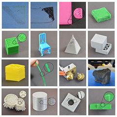 Проблемы качества печати 3D-принтера в картинках