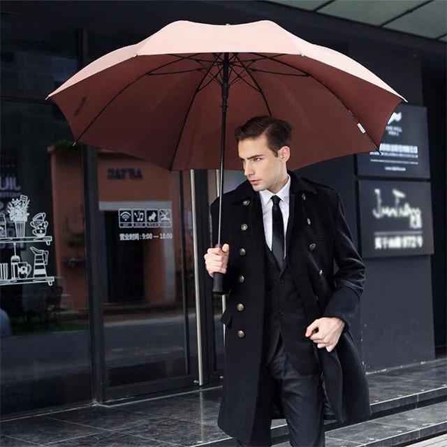 Зачем нужен дорогой и имиджевый зонт мужчине? Выбираем подарок