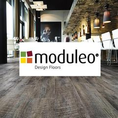 НОВИНКА! Виниловые полы MODULEO(Бельгия)