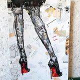 Художник, рисующий моду, обожает женские ножки в лабутенах