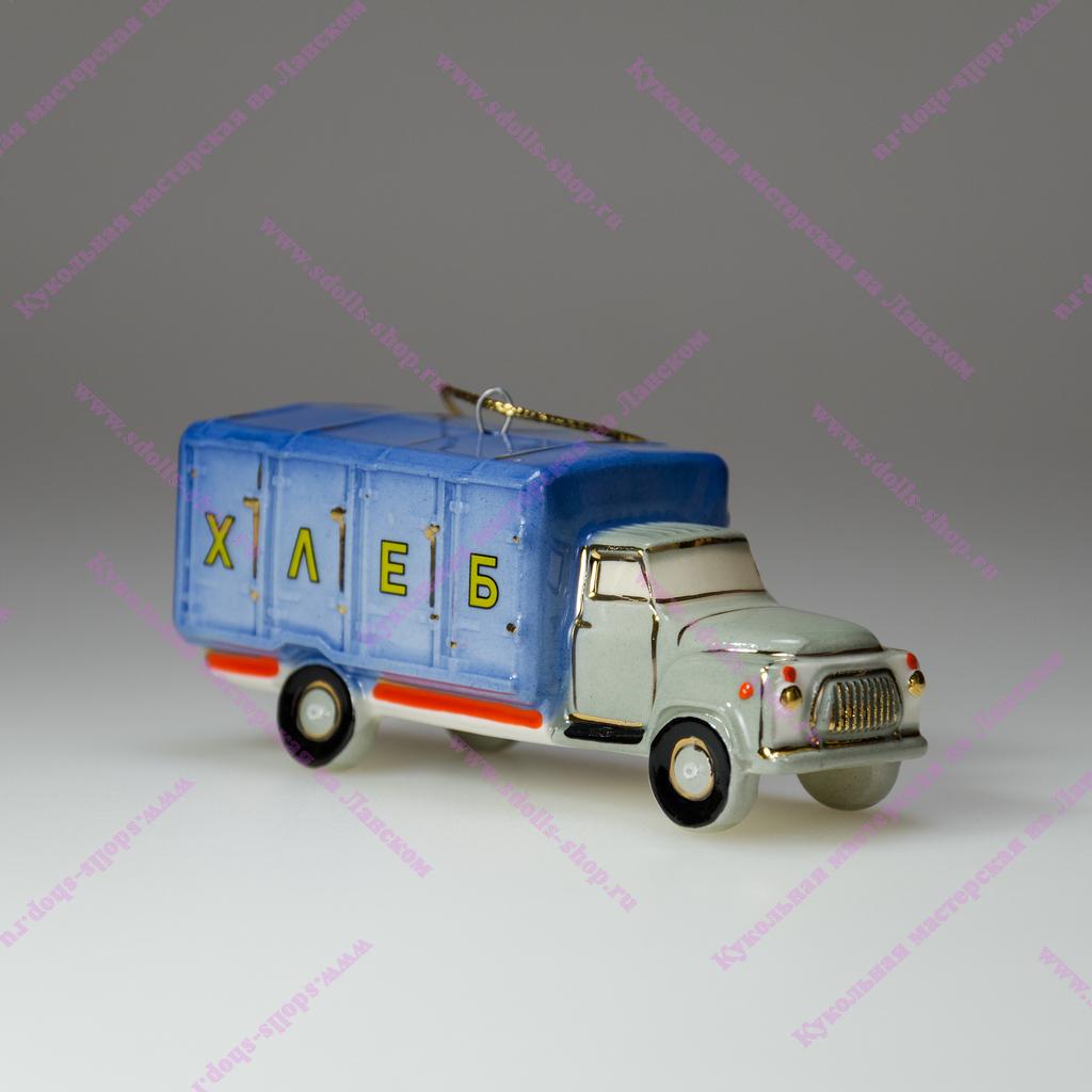 Новая фарфоровая елочная игрушка