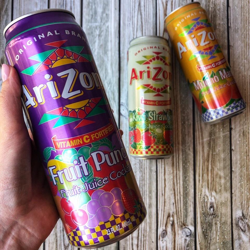 Почему напитки Arizona полезны как бабушкин морс?