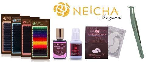 Профессиональные материалы для наращивания ресниц Neicha