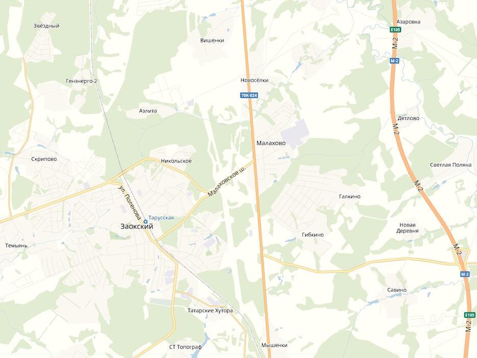 Ищите стройматериалы в Малахово Заокского района Тульской области?