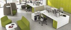 Профессионализм «плюс» удобная офисная мебель «равно» эффективный труд коллектива
