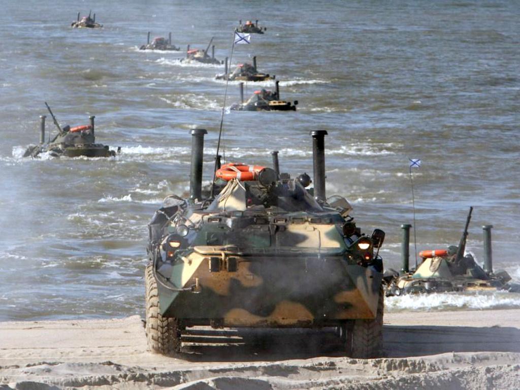 Где вы – там победа: день морского пехотинца в РФ