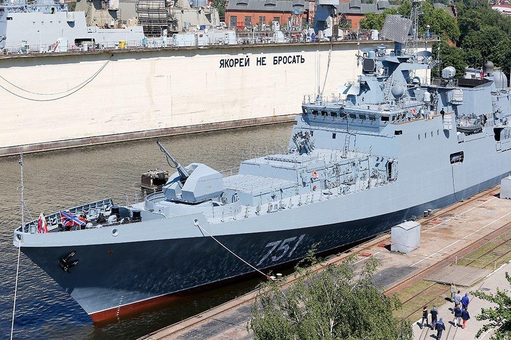 """""""Адмирал Эссен"""" на страже порядка в Средиземноморье"""