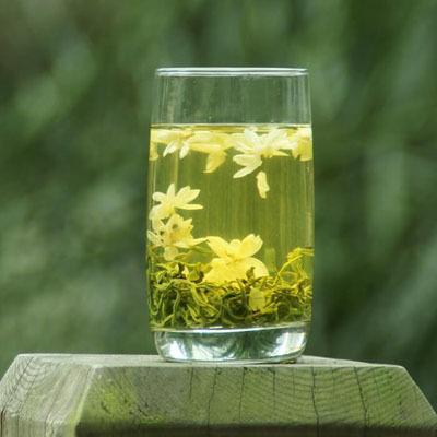 Зеленый чай с жасмином. Рецепт коктейля