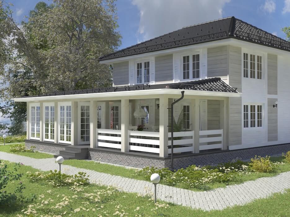 Рекомендации по планировке двухэтажного дома