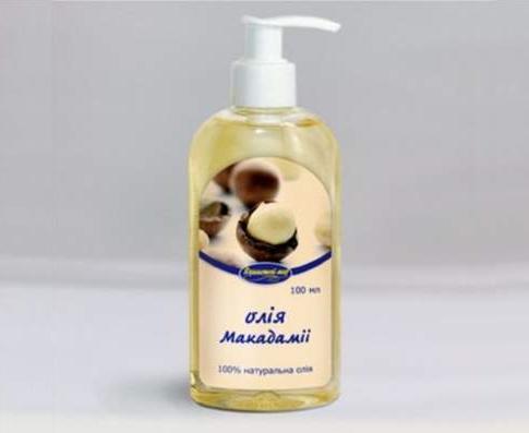 О пользе масла макадамии