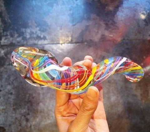 Дилдо – подарок от итальянских стеклодувов