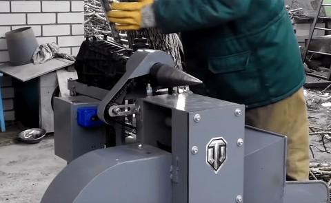 Измельчитель-дробилка веток+винтовой дровокол морковка описание сборки