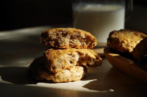 Цельнозерновое печенье с овсянкой