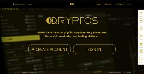 Обзор криптовалютной биржи Qryptos