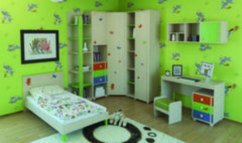 Отличие детской комнаты от комнаты взрослого человека.