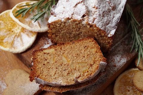 Медово-имбирный цельнозерновой кекс